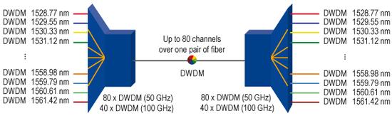 DWDM channels