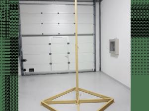 custom designed antenna pole