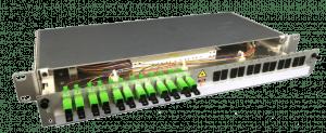 "Fiber optic patch panel 19"" OptoPatch"