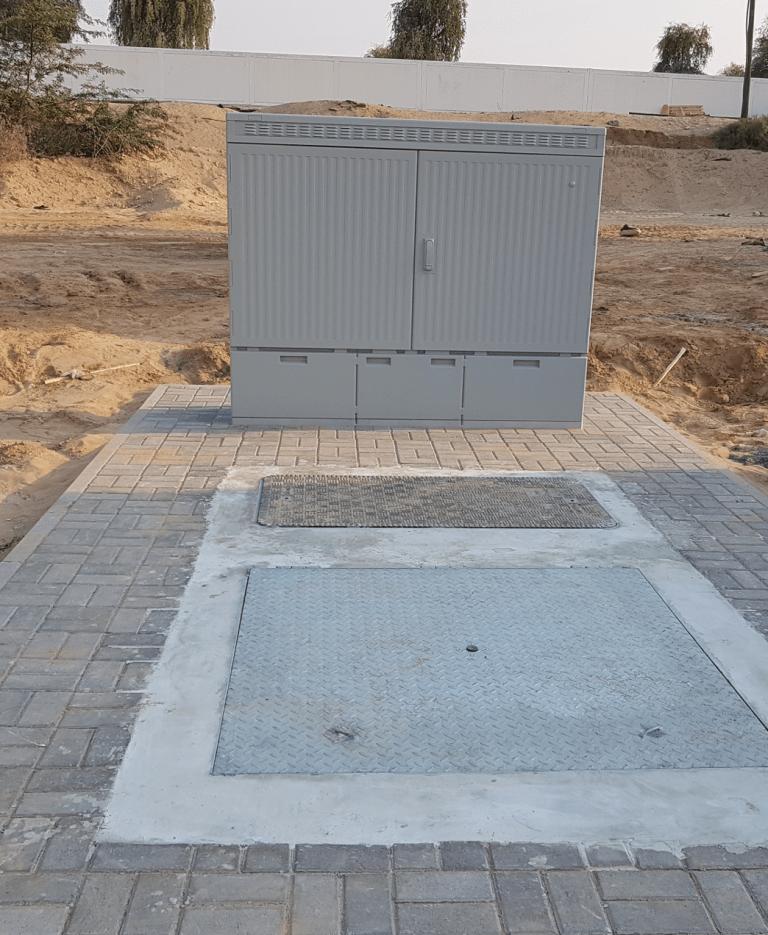 uCab Underground Telecom Cabinet Installed
