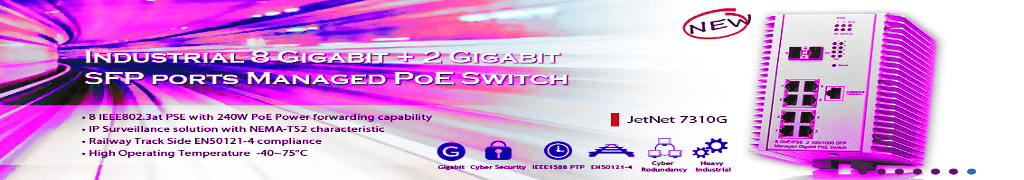 Industrial Gigabit Switches