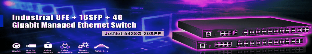 Industrial Gigabit Managed Switches