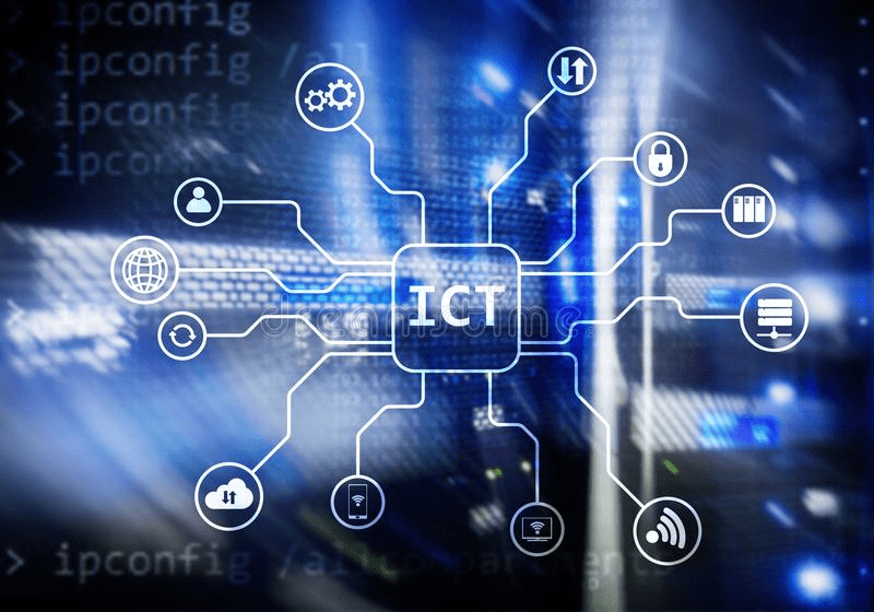 ict information communications technology background
