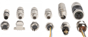 HARTING M12 Connectors types