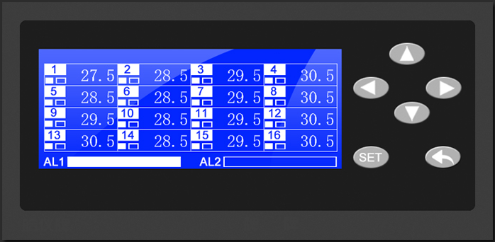 Multi Channel Temperture Measurement