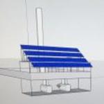 Solar building drawing 1